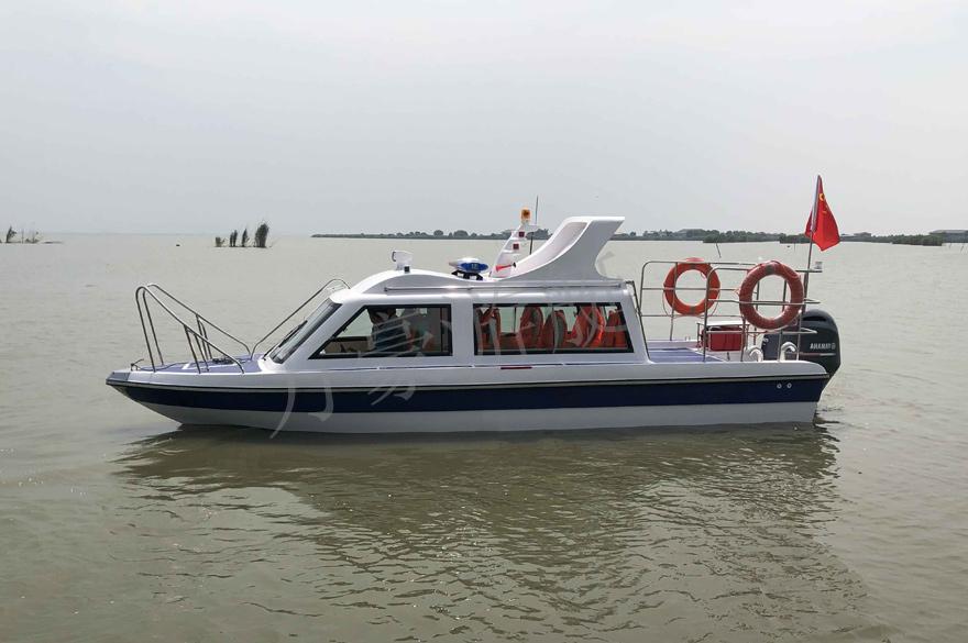 WH730半棚艇 (带工作平台)
