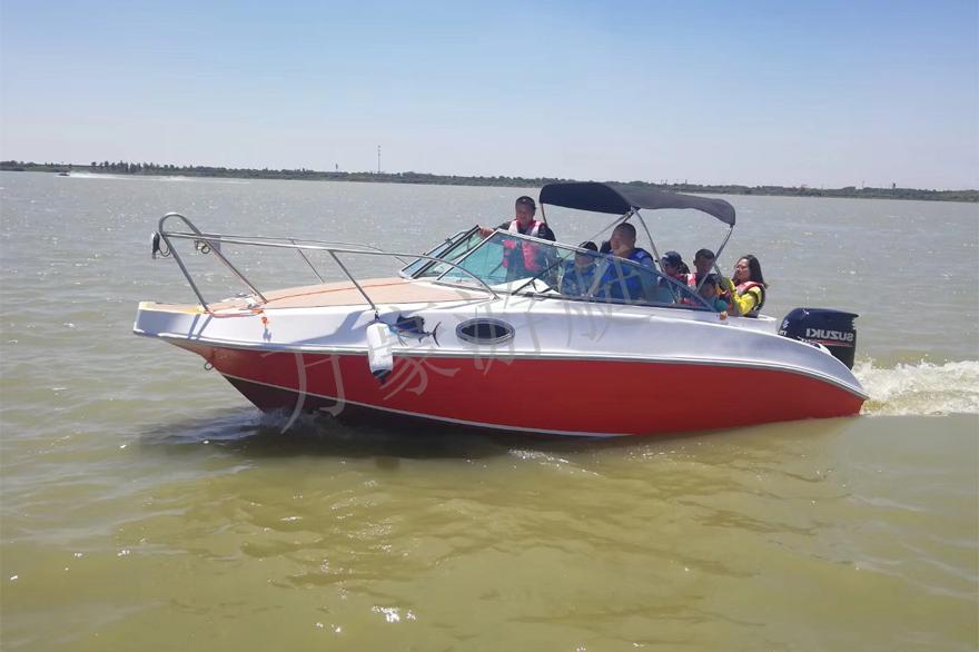 WH638钓鱼艇(带舱)
