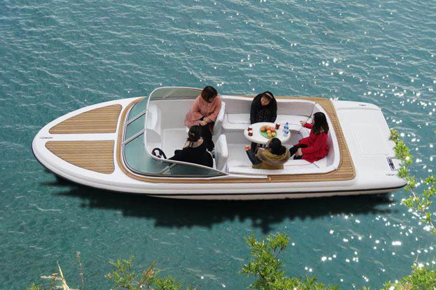 WH600电动休闲艇