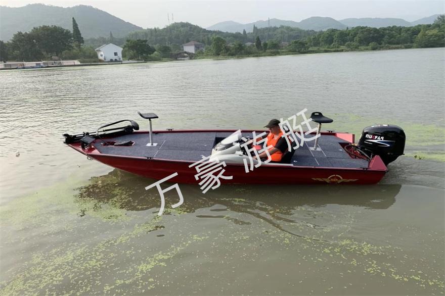 WH488铝合金路亚艇